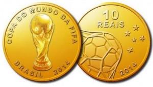 Brazil World Cup commemorative coins