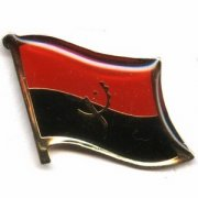 Angola Flag Pins