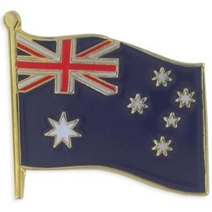 Australian flag lapel pin