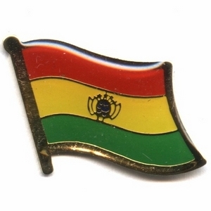 Bolivia flag pins
