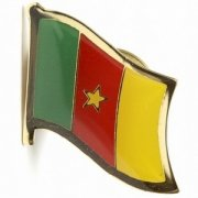 Cameroon Flag Pins