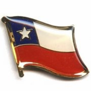 Chile Flag Pins