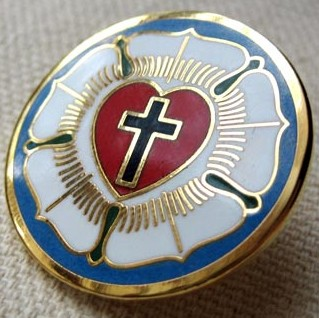 Christian lapel pin