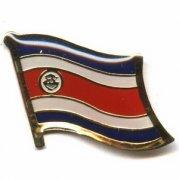Costa Rica Flag Pins