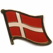 Denmark Flag Pins