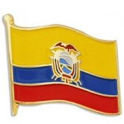 Ecuador Flag Pins