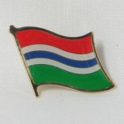 Gambia Flag Pins