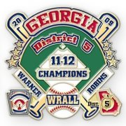 Georgia Baseball Lapel Pins