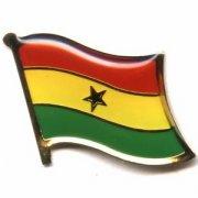 Ghana Flag Pins