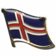 Iceland Flag Pins
