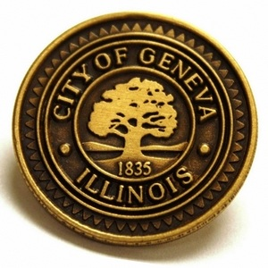 Illinois lapel pins