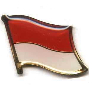 Indonesia flag pins