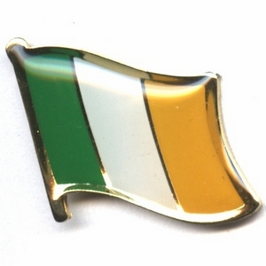 Ireland flag pins