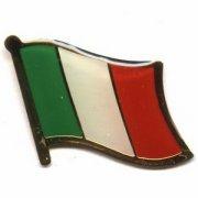 Italy Italian Flag Pins