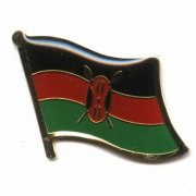 Kenya Flag Pins