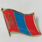 Mongolia Flag Pins
