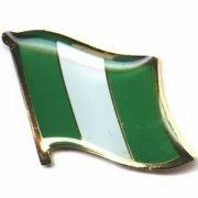 Nigeria Flag Pins