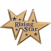 Rising Star Pins
