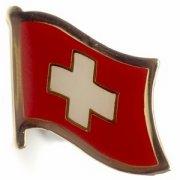 Swiss Switzerland Flag Pins