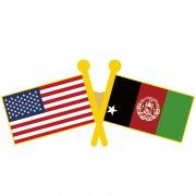 USA Afghanistan Flag Pins