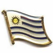 Uruguay Flag Pins