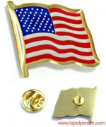 US Flag Pins