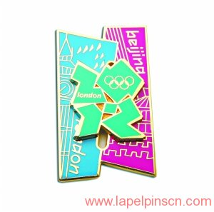 London Olympic Games lapel pins