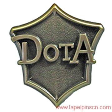 dota game lapel pin