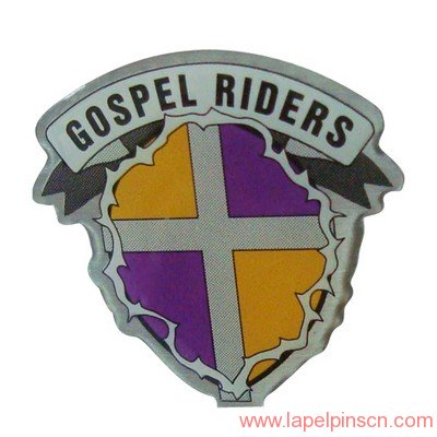 gospel lapel pin