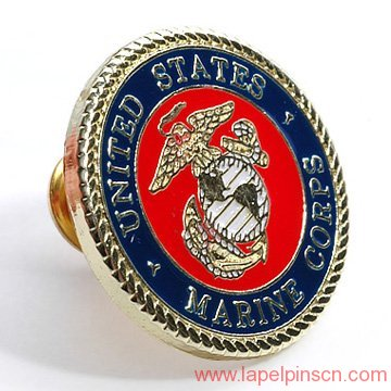 military award lapel pin