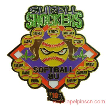 trading pin for baseball