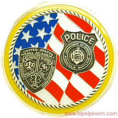 Police Challenge Coins For Sale > Lapel Pins CN