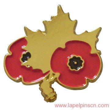 6de406bb3a7 Canada Maple Leaf Lapel Pin   Lapel Pins CN
