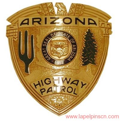 Arizona highway patrol badge