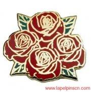 Rose Lapel Pin