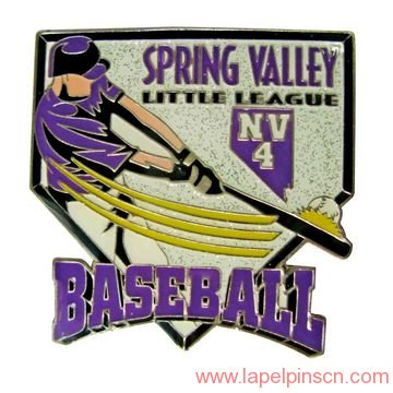 little league baseball pin