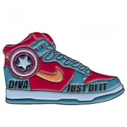 Captain America Shoe pins