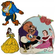 Beauty And The Beast Enamel Pins