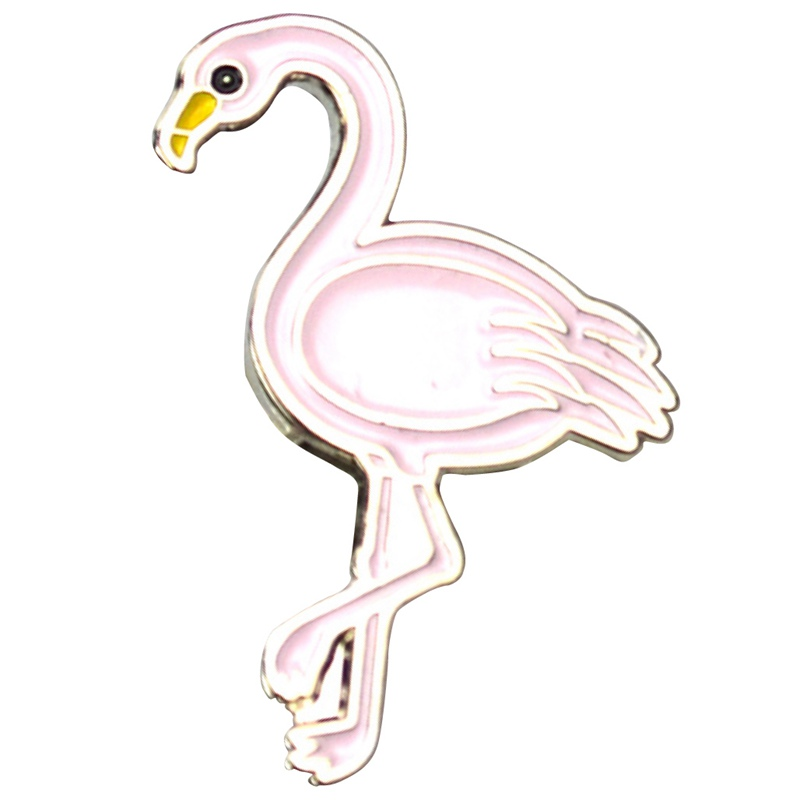 flamingo lapel pins