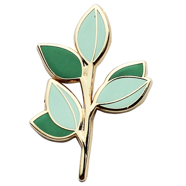 leaves lapel pins