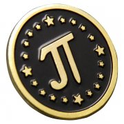 Math Pi Lapel Pins