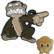 Monkey Lapel Pins