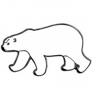 Polar Bear Lapel Pin