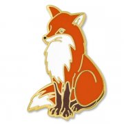 Red Fox Lapel Pins