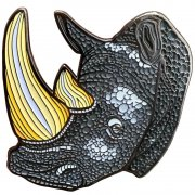 Rhinoceros Lapel Pins