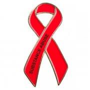 Substance Abuse Awareness Pins