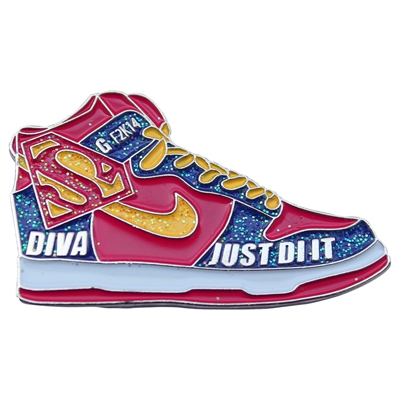 Superman Nike Pins